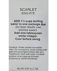 Scarlet Dye