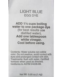 Light Blue Dye