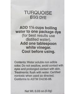 Turquoise Dye