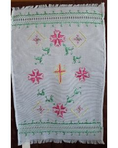 Embroidered Easter Basket Cover -19