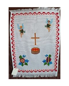 Embroidered Easter Basket Cover -10