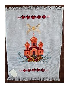 Embroidered Easter Basket Cover -11